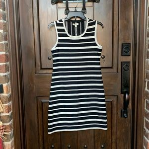Brand New Black & White Dress